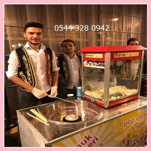 Pamuk-Şeker-PATLAMIŞ-Mısır-Arabası